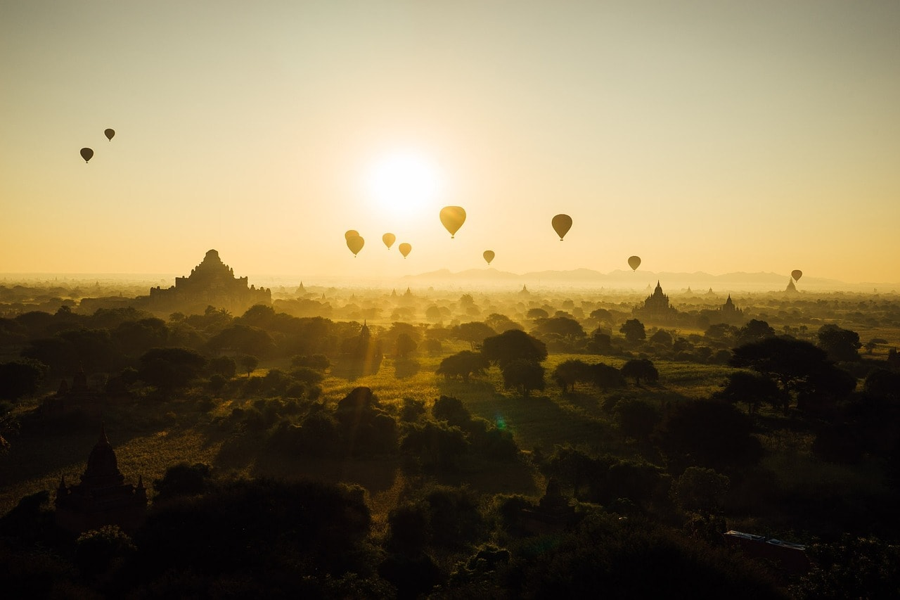 Bagan Hot Air Ballon Ride