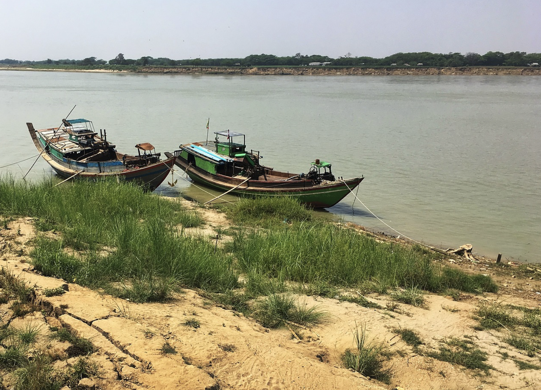 Irrawaddy River Boats
