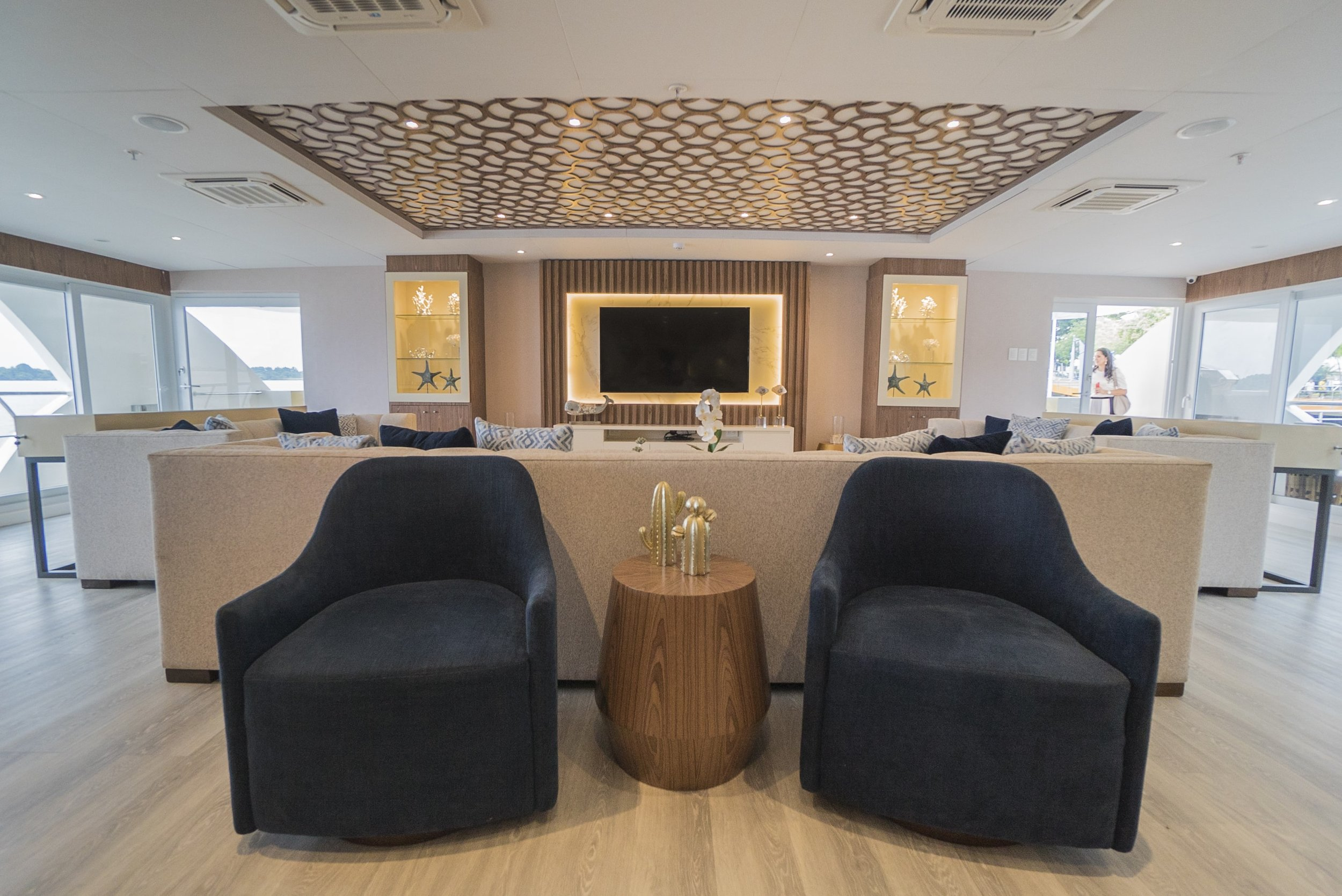 Elite passengers lounge
