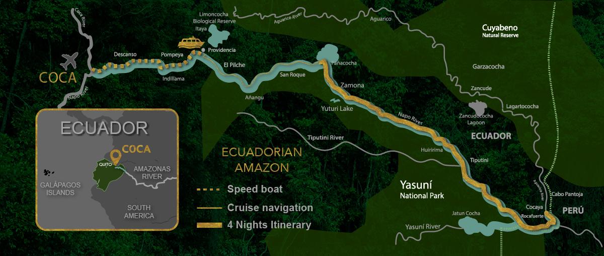 Manatee Cruise Itinerary 5