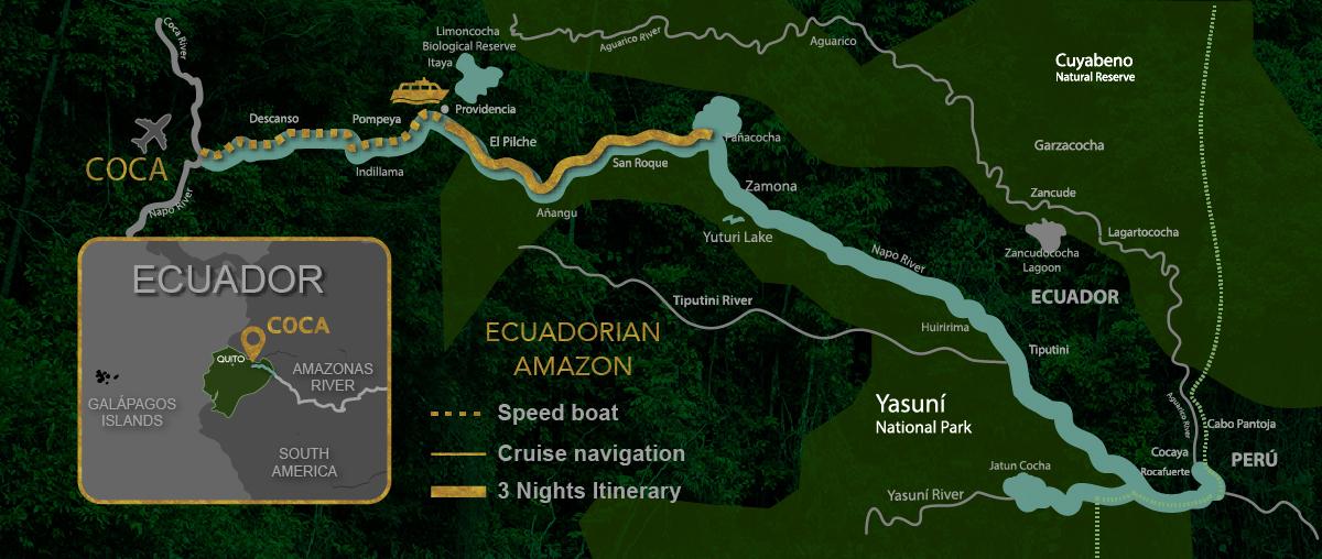 Manatee Cruise Itinerary 4