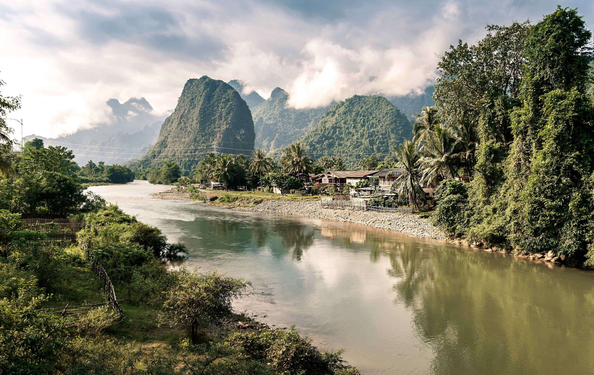 Anouvong Heritage Line - Laos - Excursion - River Scenery