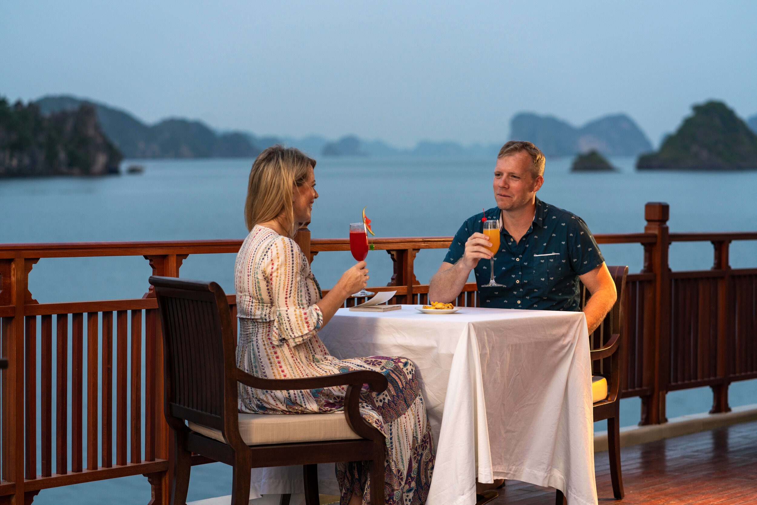 Ylang Heritage Line - Lan Ha Bay - Ylang - terrace deck