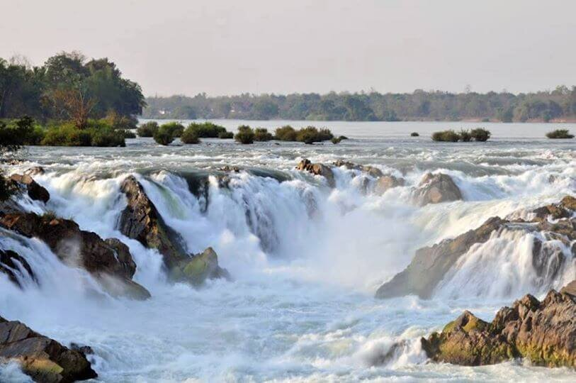 The Khone Falls: The Widest Waterfall In The World | Rainforest Cruises