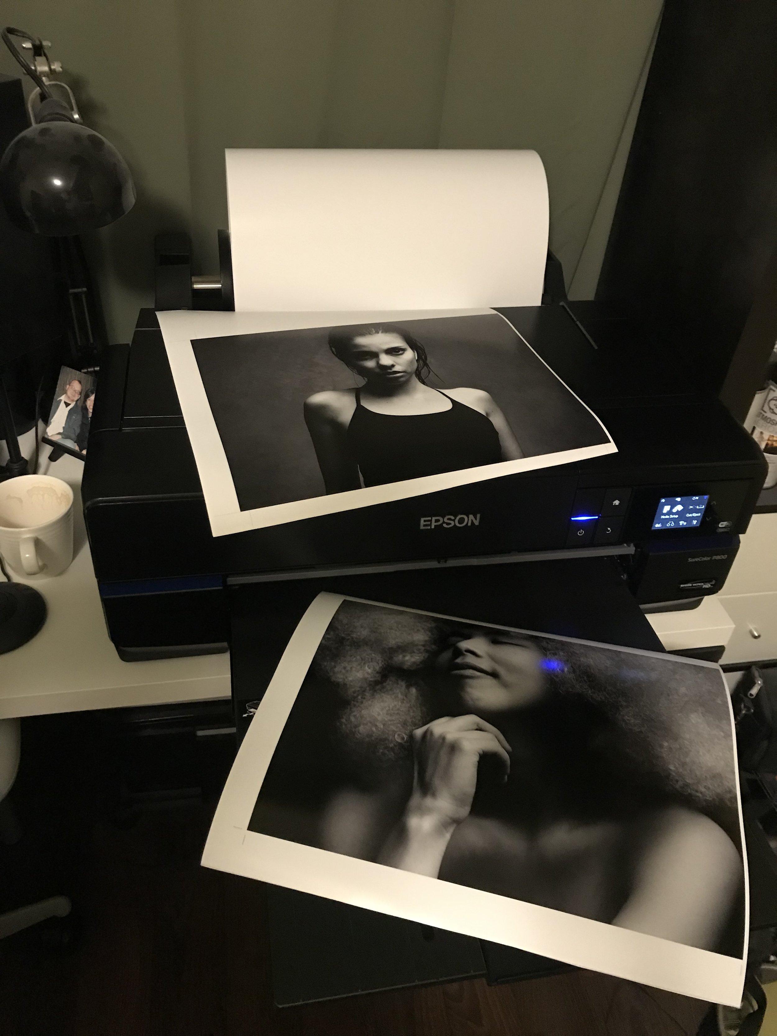 RENimagines Portfolio book printing