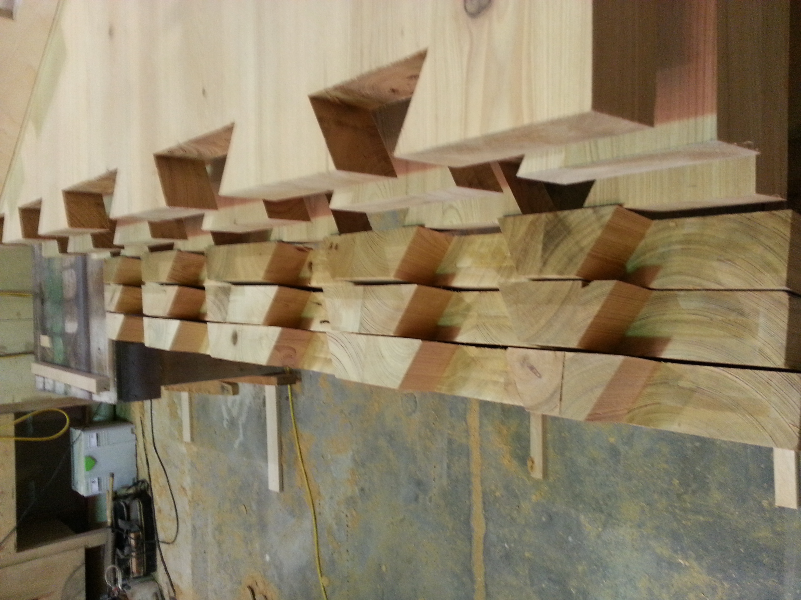 Beautiful dovetail joints
