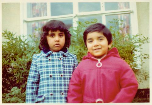 Zarqa Nawaz and her younger brother Muzammal Nawaz