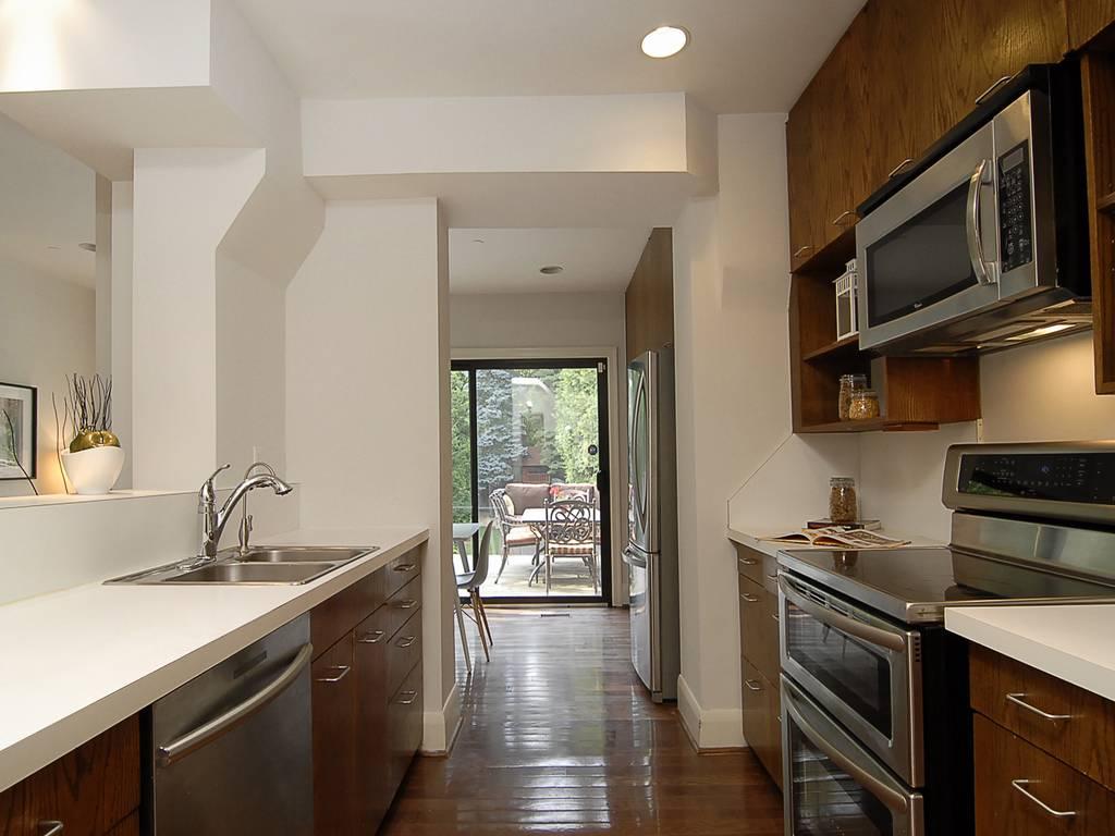 Kitchen with Abundant Storage