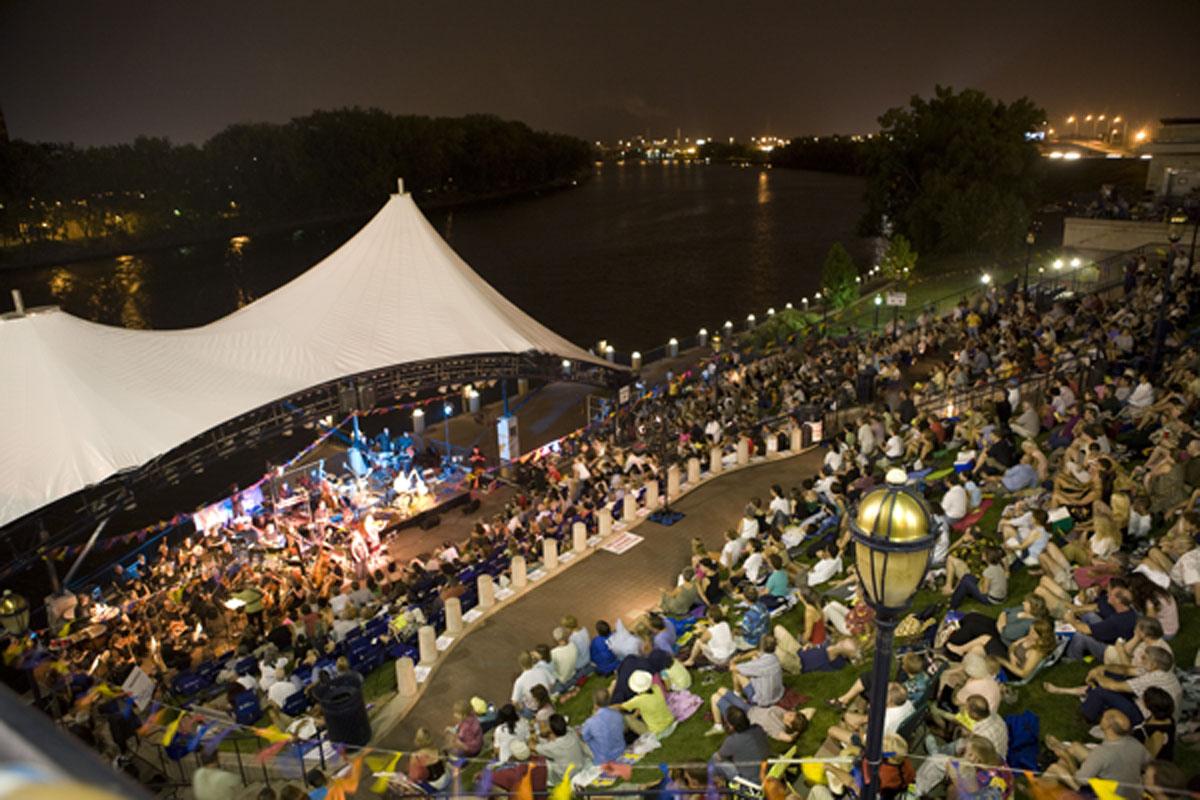 Guitar Under The Stars, Mortensen River Plaza, Hartford, CT