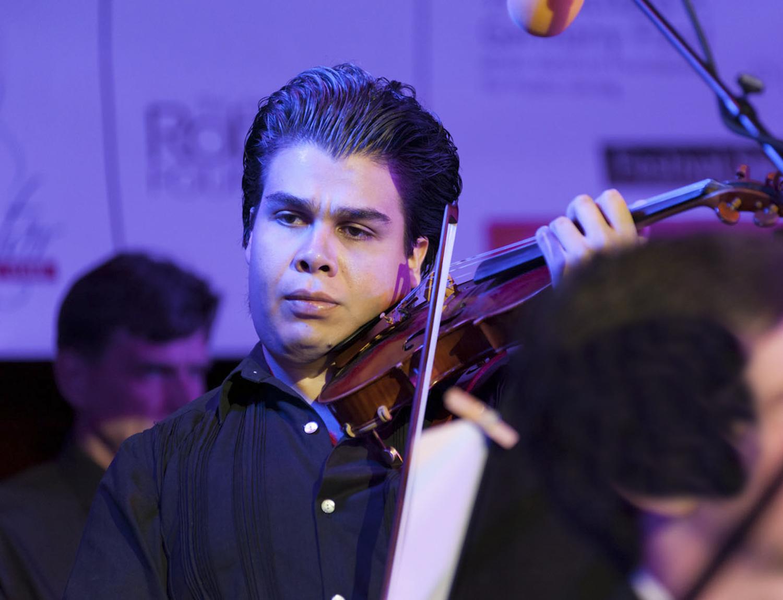 Fernando Vizcayno, violin (Mexico)