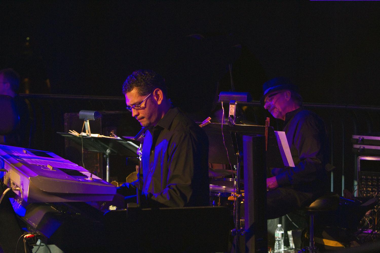 Abraham Sanchez, keyboards (Venezuela) Gene Bozzi, drums (USA)
