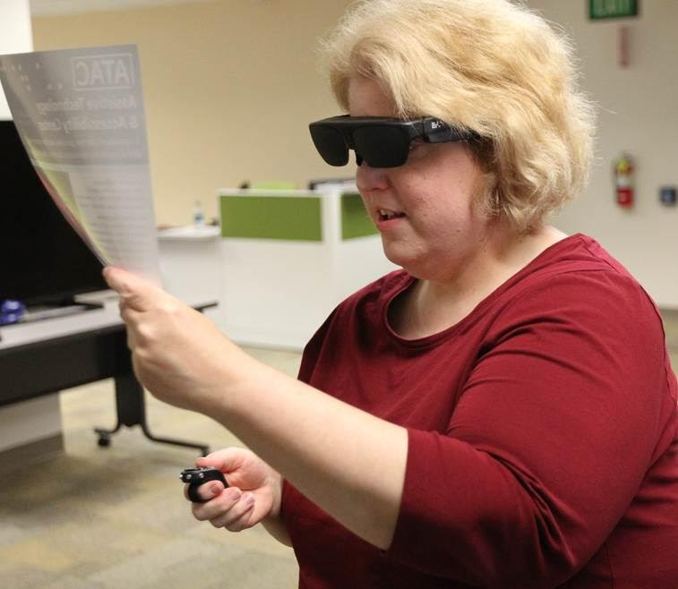 I'm checking out the NuEyes smart glasses for myself