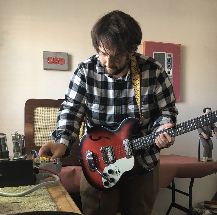 August Graybosch of Otis Amps with Proto #8.