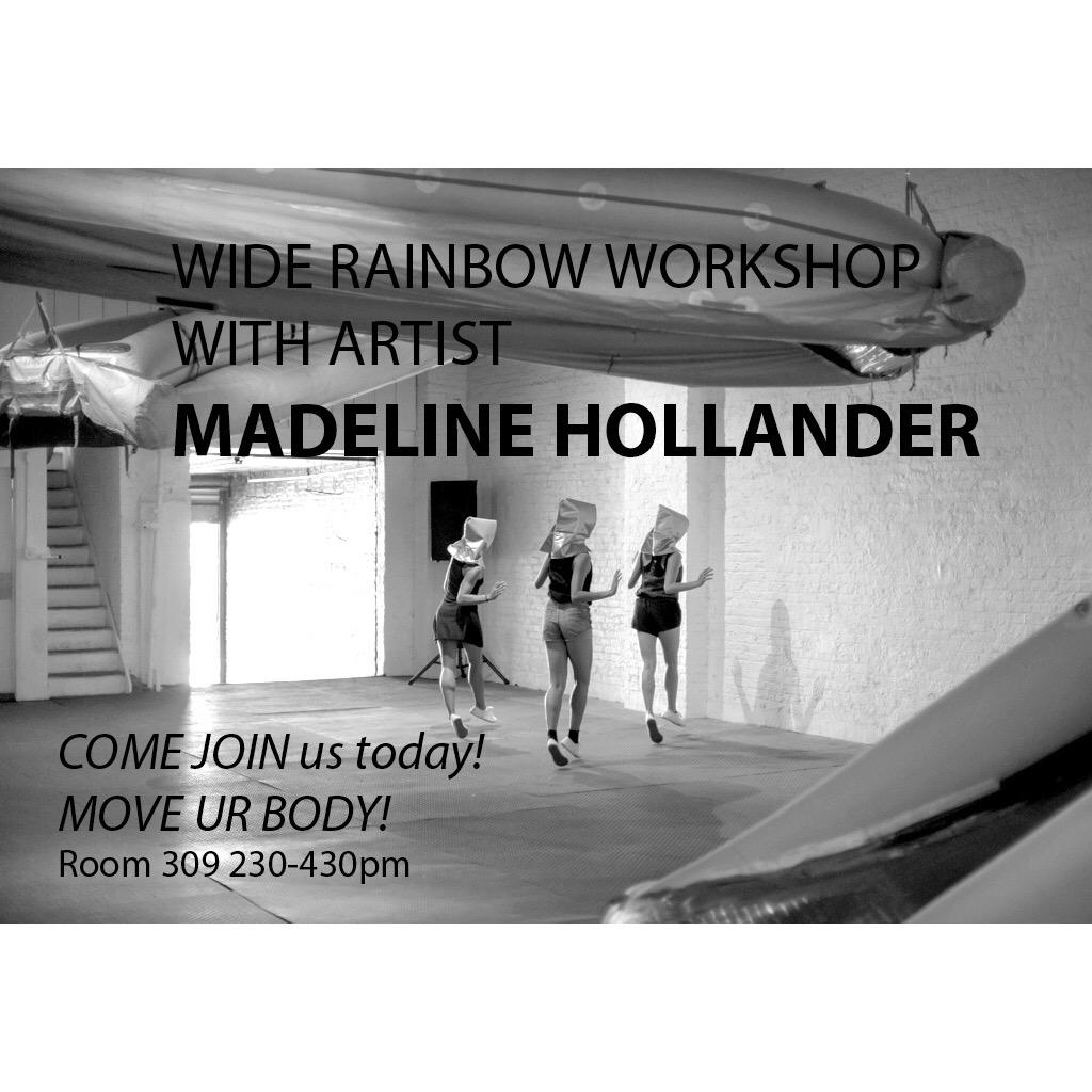 madeline hollander wide rainbow workshop flyer