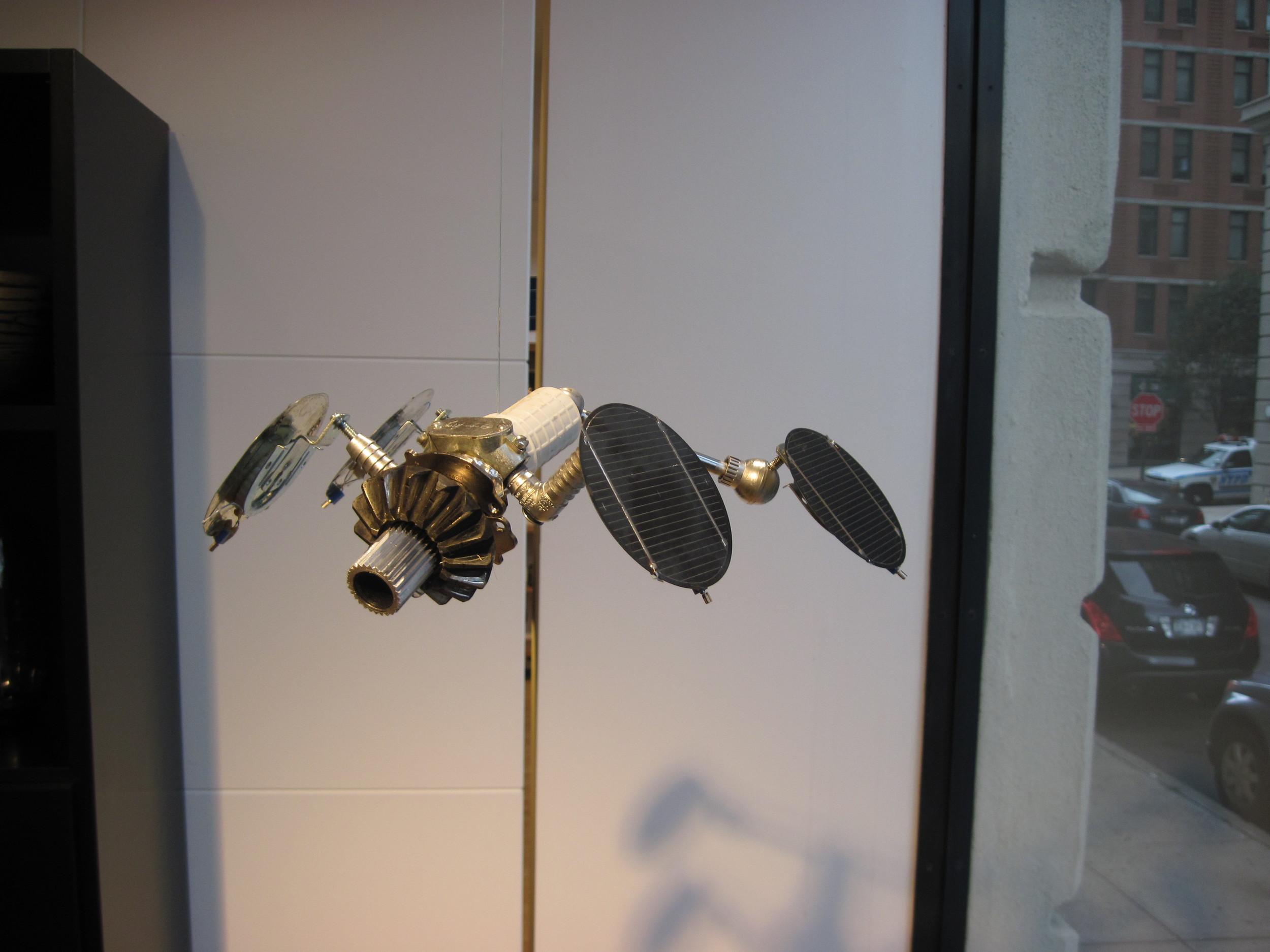 Vibrating Satellite
