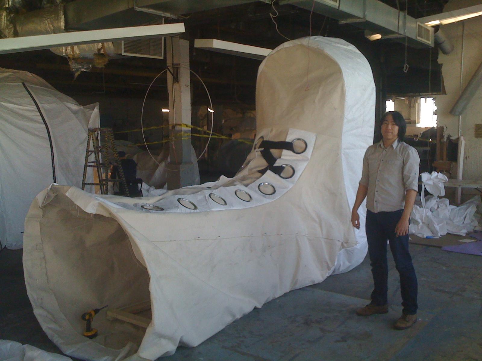 Tomaszewski's Space Suit Tent