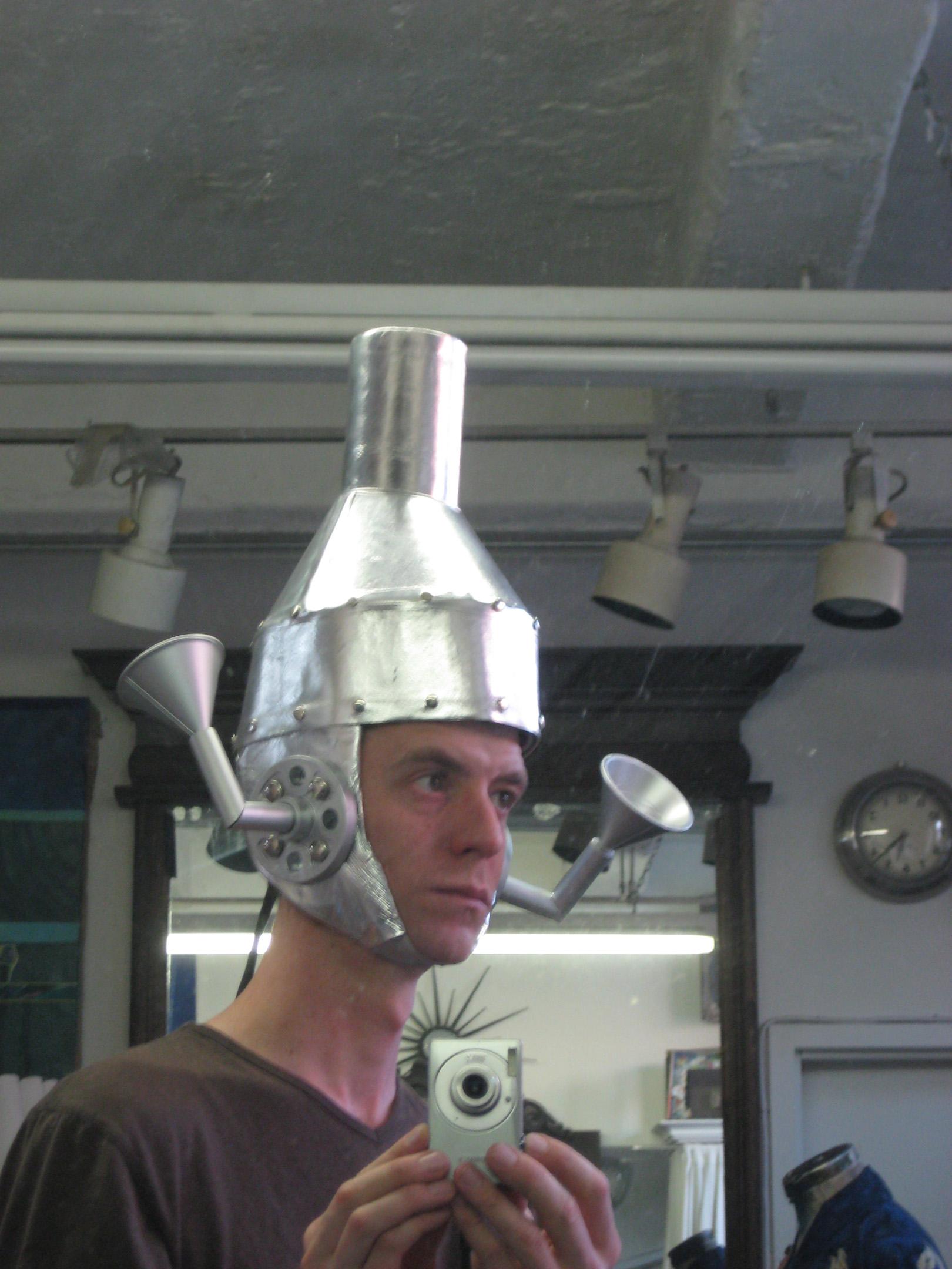 Tin Man Helmet