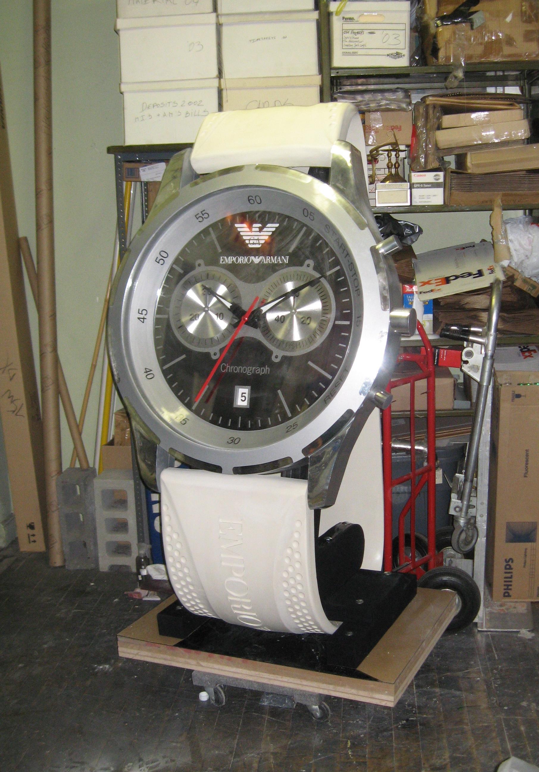 Armani Giant Watch