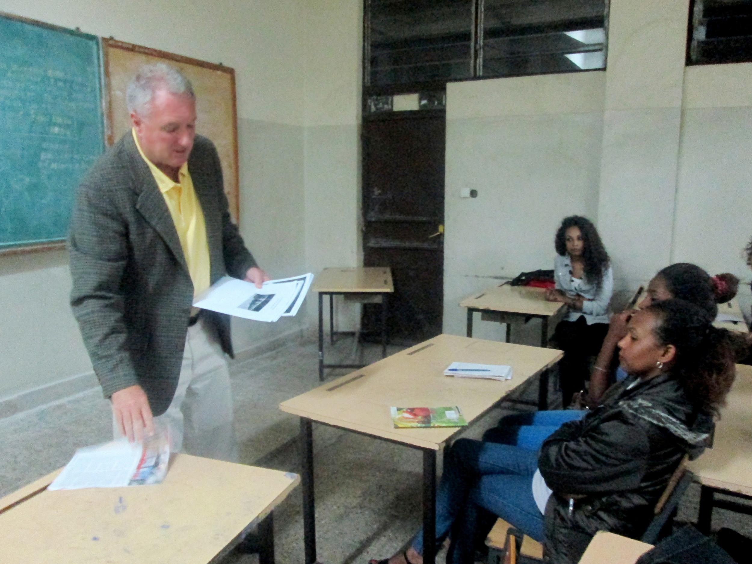 PJB III TEACHING AT UNIVERSITY