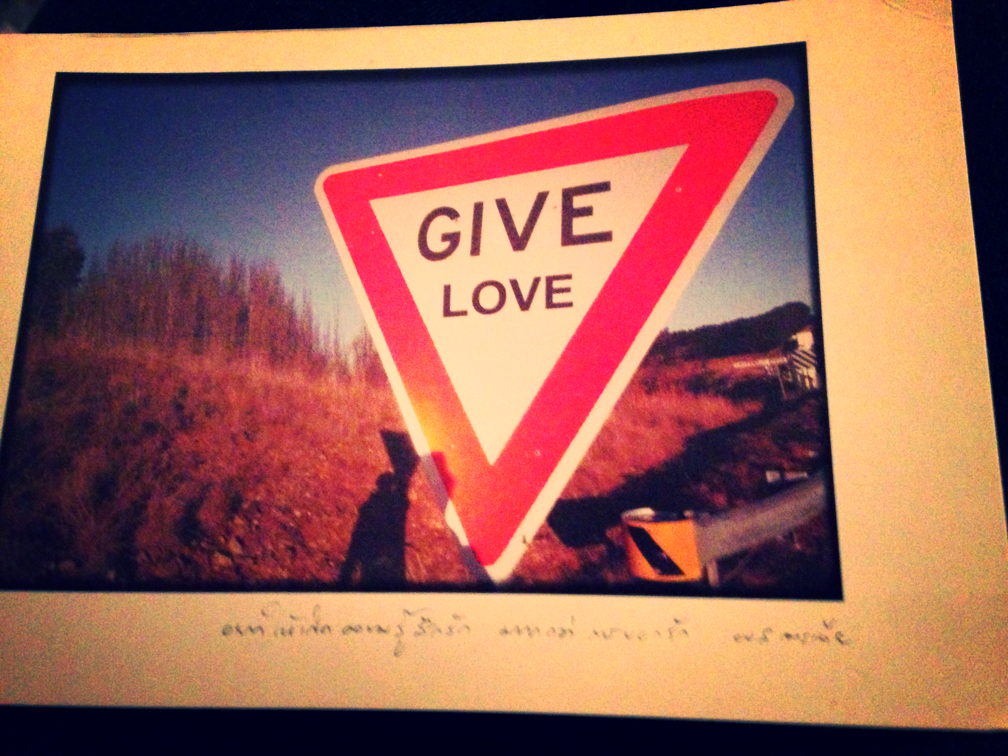 Give Love...