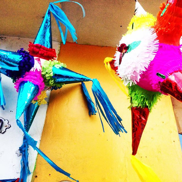 Colourful piñatas :) I love Christmas #mexico style ! #wanderwomenclub #wanderwomen #wander #wanderer #wanderlust #wandering #travel #traveller #travelblog #travelgram #travellife #travelling  #travelpics #travelporn #travelphoto #travelingram #travelblogger #traveltheworld #travelphotography #backpackerlife #explore #beautiful