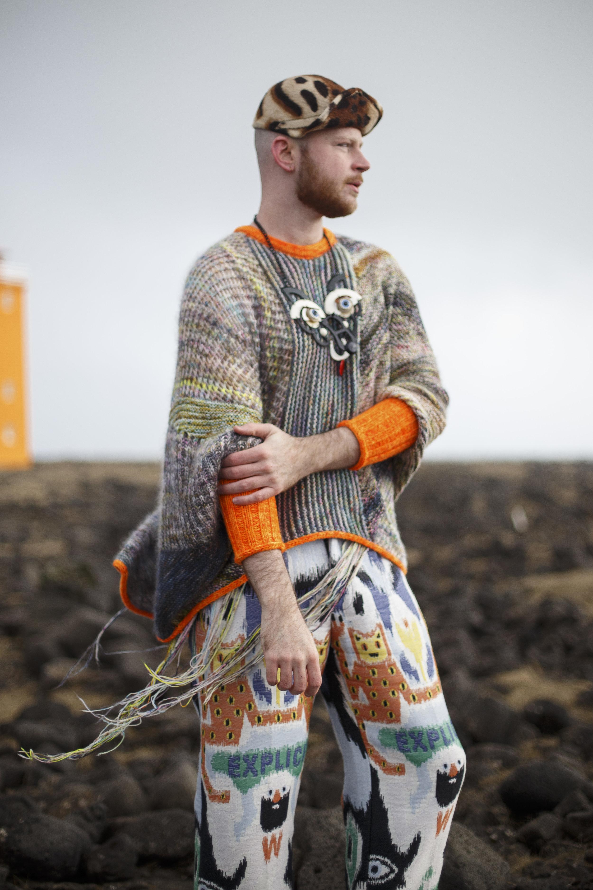 Stephen West Iceland Day 1 (Marled Magic Sweater)