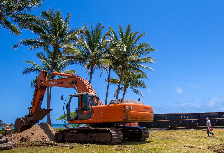 Alakea Site Construction