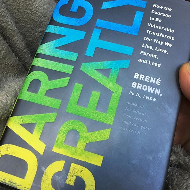 Seems like half my copy is covered in highlights. Thank you @brenebrown for sharing this with us. I had forgotten how wonderful it is.