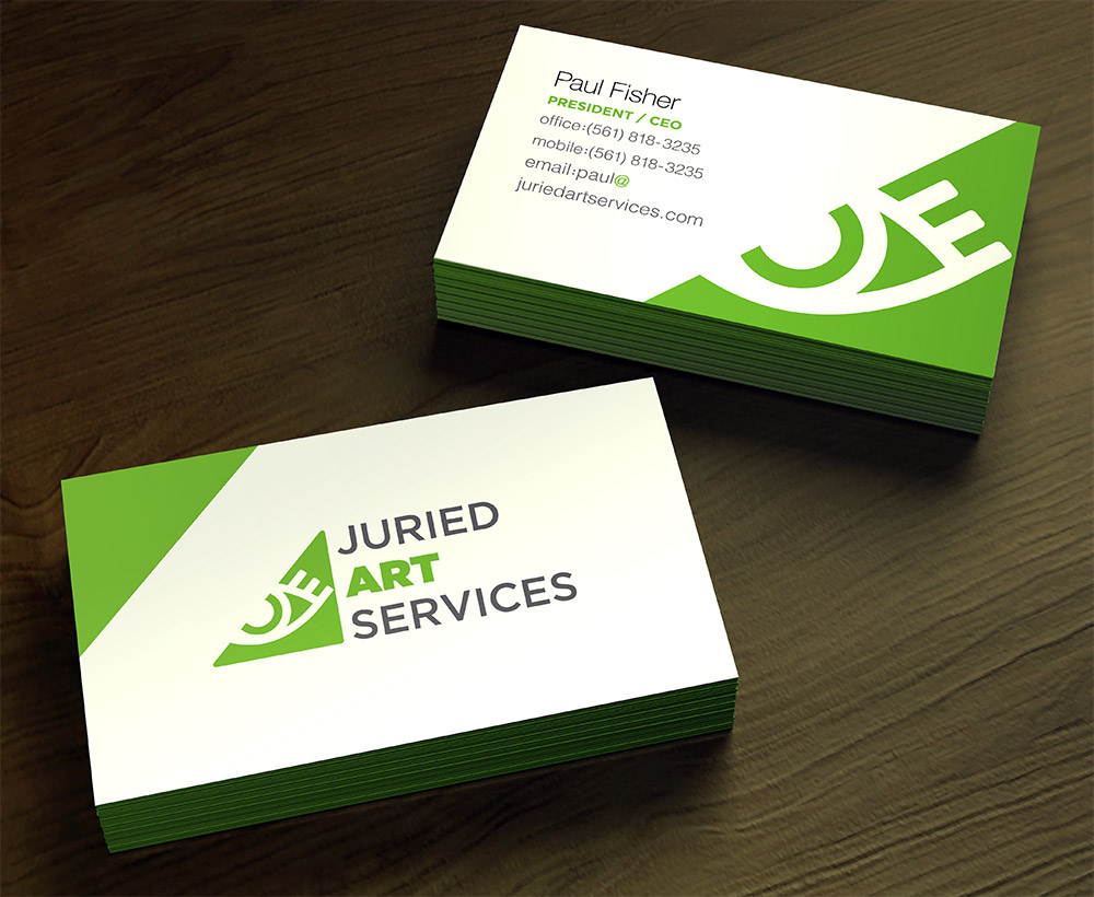 Business Cards - With a new logo, new business cards were also required.