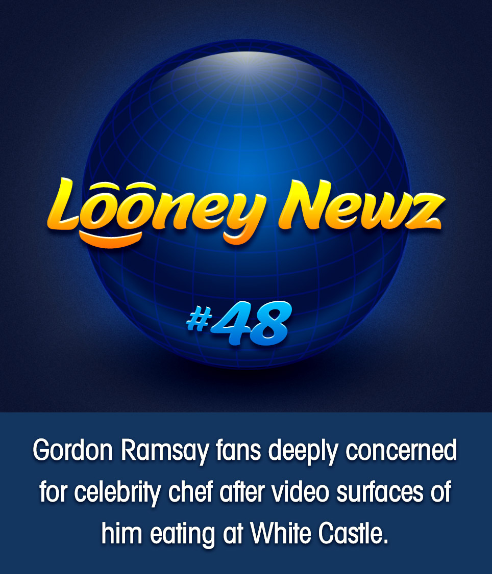 "- A video surfaced over the weekend allegedly showing celebrity chef Gordon Ramsay dining in the unlikeliest of places, a New Jersey White Castle. Ramsay, whose myriad restaurants have been awarded an astonishing 16 Michelin stars, rose to mega-stardom as host of several culinary television shows over the past 20 years. His notoriously mercurial temperament earned him a reputation as a harsh perfectionist, so fans are understandably concerned. One person tweeted, ""BLOODY HELL! Gordon, say it ain't so!"" A fan-run Facebook page was full of similar comments. ""Is this really happening?! WHITE CASTLE? That's where Waffle House employees go slumming!"" Attempts to reach Ramsay's representatives have not been returned."