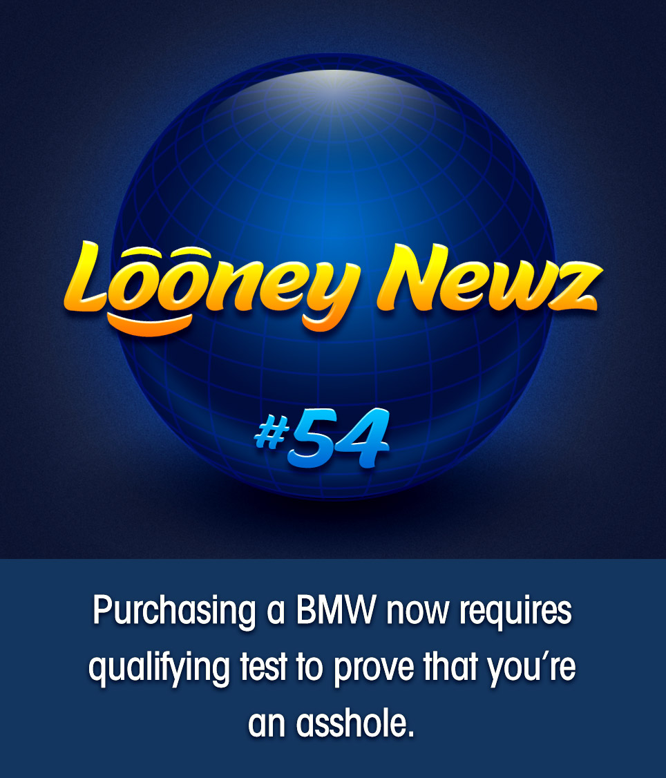 "- German car manufacturer BMW says that to strengthen brand consistency, all new U.S. model sales will require potential buyers to fill out a brief personality questionnaire to verify that their attitude and behavior is aligned with the reputation for which their cars are chiefly known. North American CEO Bernhard Kuhnt explains, ""It's not as prevalent in Europe, but here in the States people have come to expect our drivers to behave in predictably asshole-ish ways. Cutting off traffic, taking up two parking spots, passing on highway shoulders. We feel that it's important to reinforce these brand expectations from the public by screening purchase eligibility."" The questionnaires are set to roll out immediately at all authorized American BMW dealerships."
