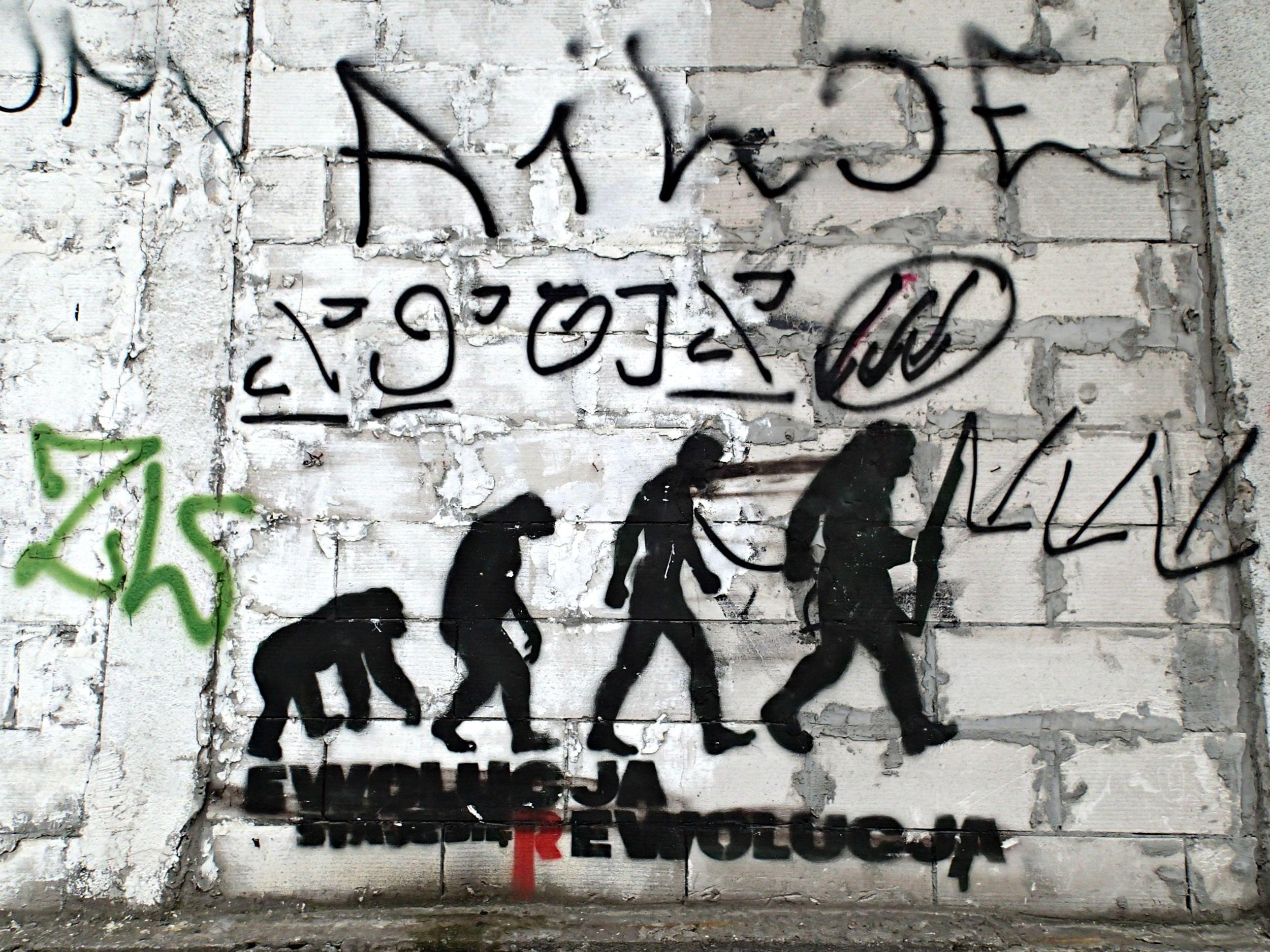 Funky Polish street art