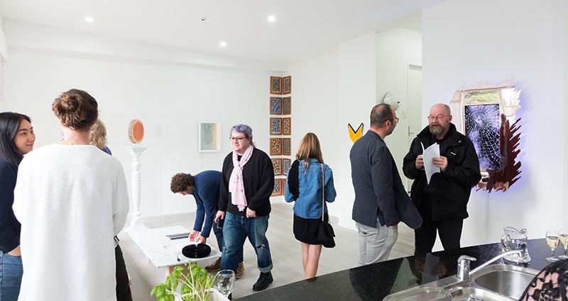 group show at Antoinette Godkin Art House, 2017.