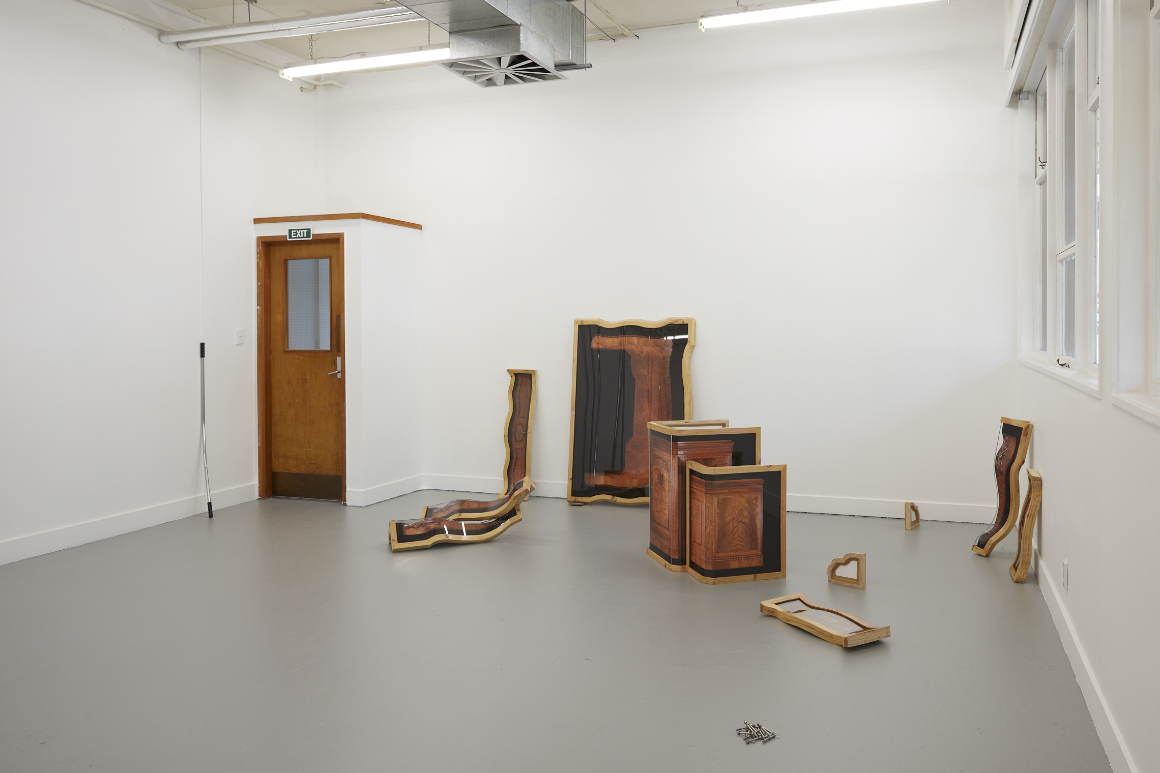 Installation view, The University of Auckland 2018.