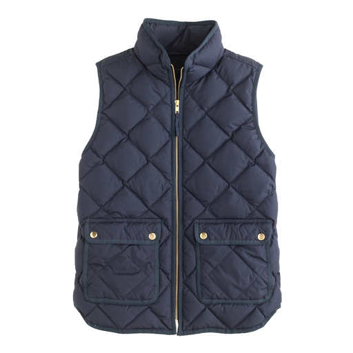J.Crew excursion quilted vest