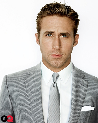 04 |  hey girl,you like my pocket square? ok fine, i just wanted to put a pictureof Ryan Gosling in here. he rocks the simple flat square fold, my favorite.