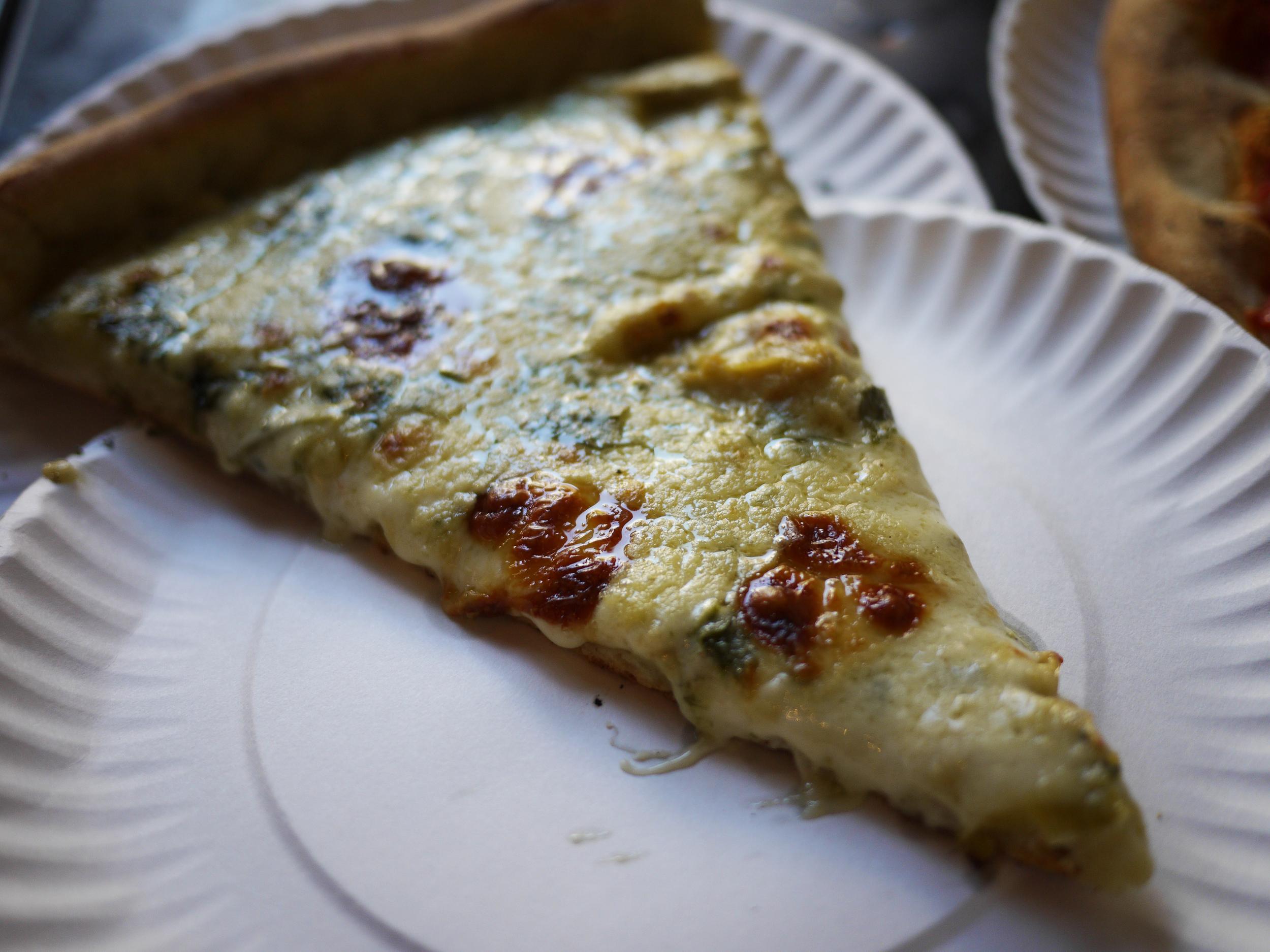 artichoke pizza @ artichoke pizza