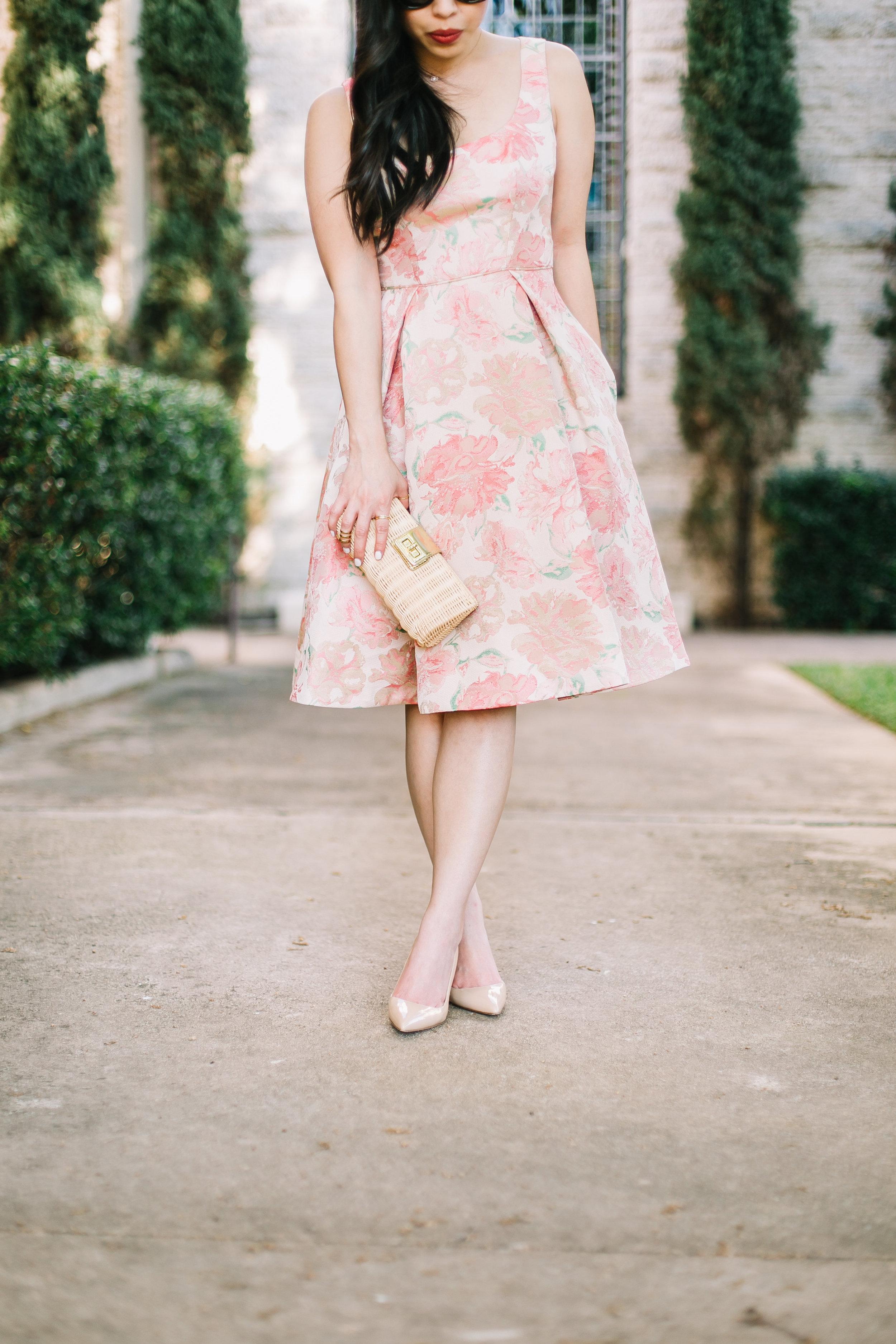 wedding guest dresses with Maggy London -- jannadoan.com