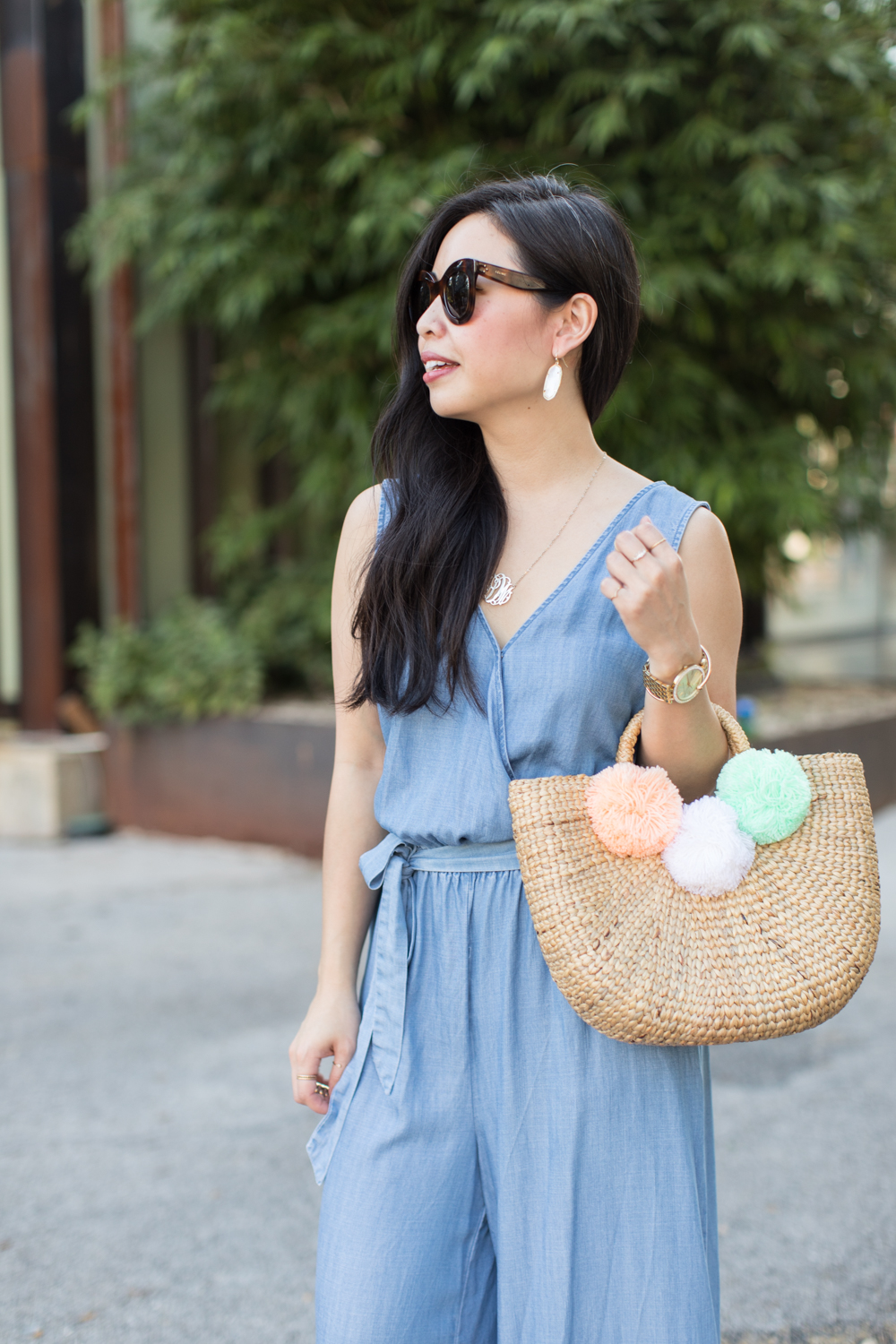 the chambray jumpsuit -- jannadoan.com