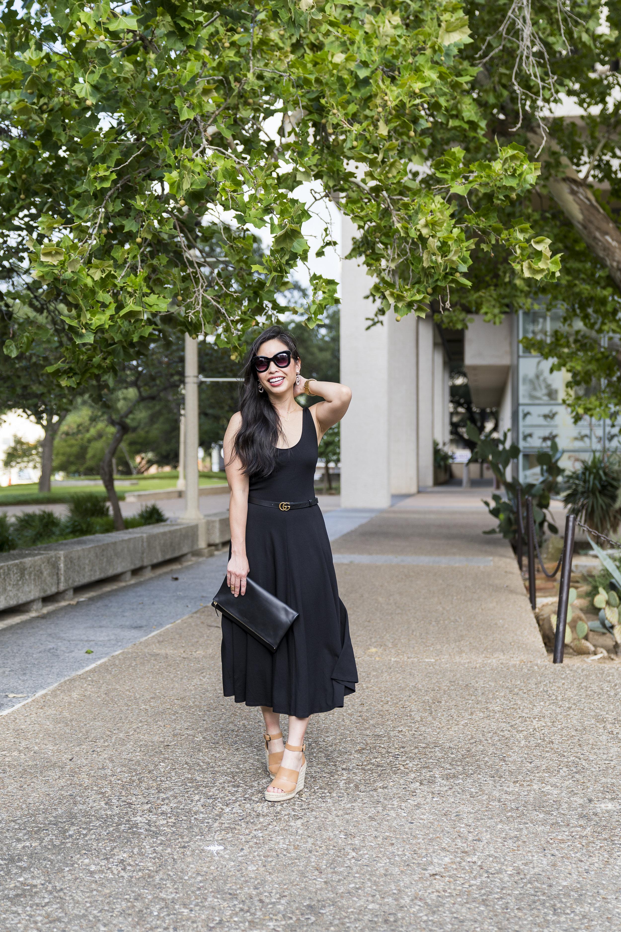 the knit midi dress -- jannadoan.com