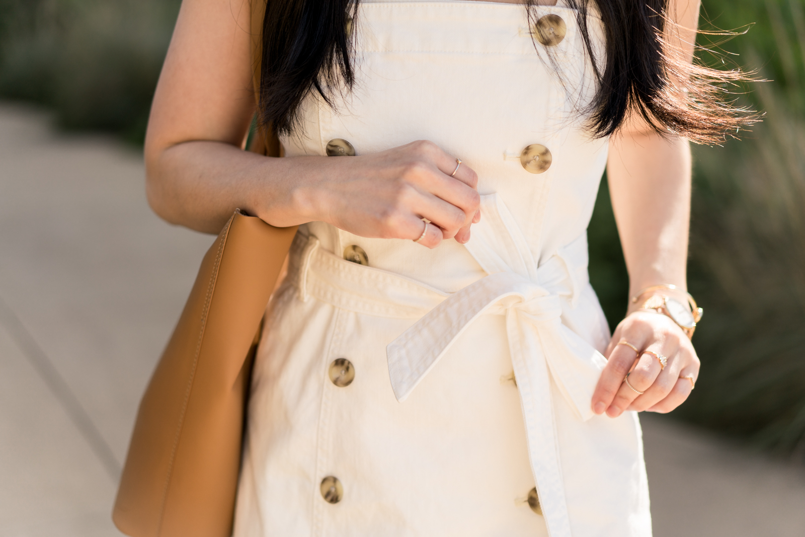the white denim dress -- jannadoan.com