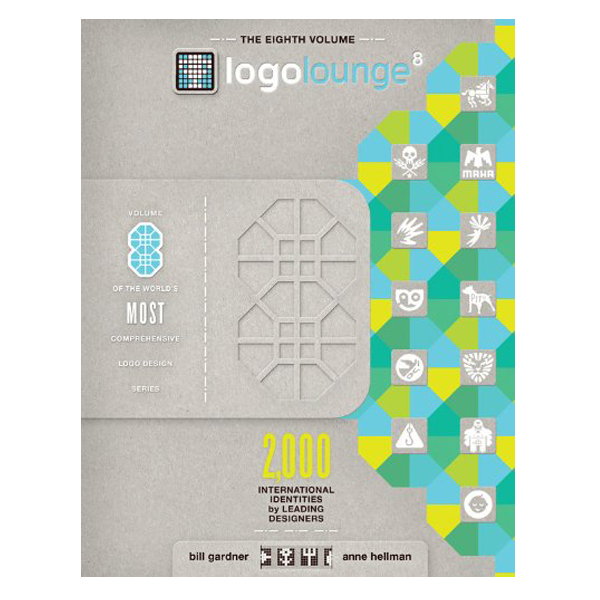 LogoLounge Volume 8: June 2014. More than 30,000 logos were considered for this book, of these only 2,000 were selected.