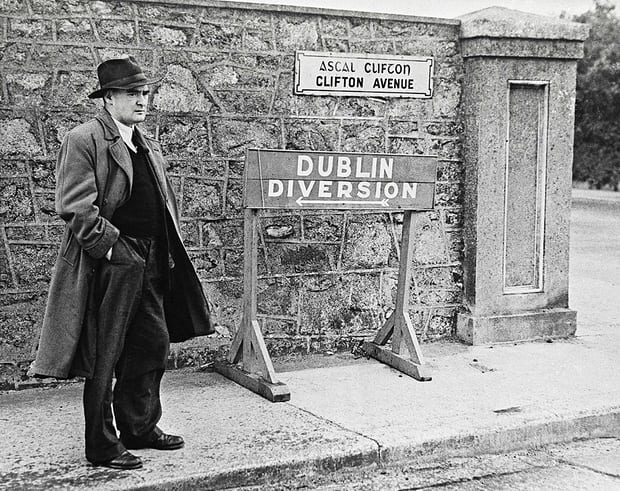 Watch the delight as you recite Flann O'Brien Photograph: The Irish Times