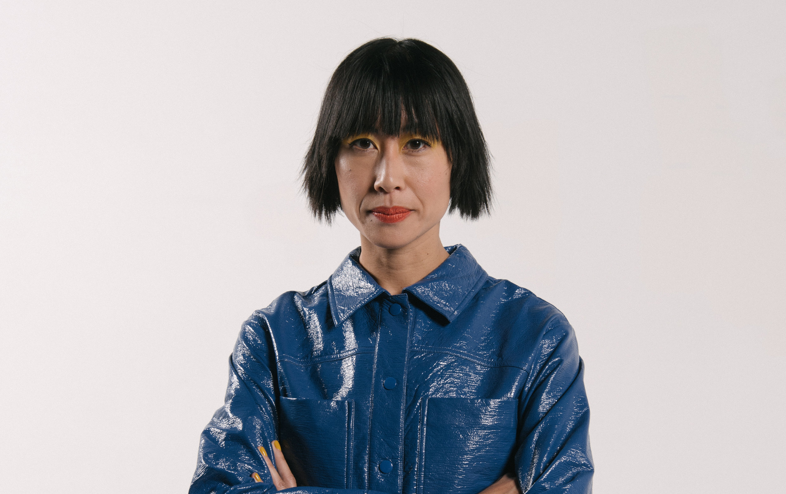 Host, video artist Eugenia Lim