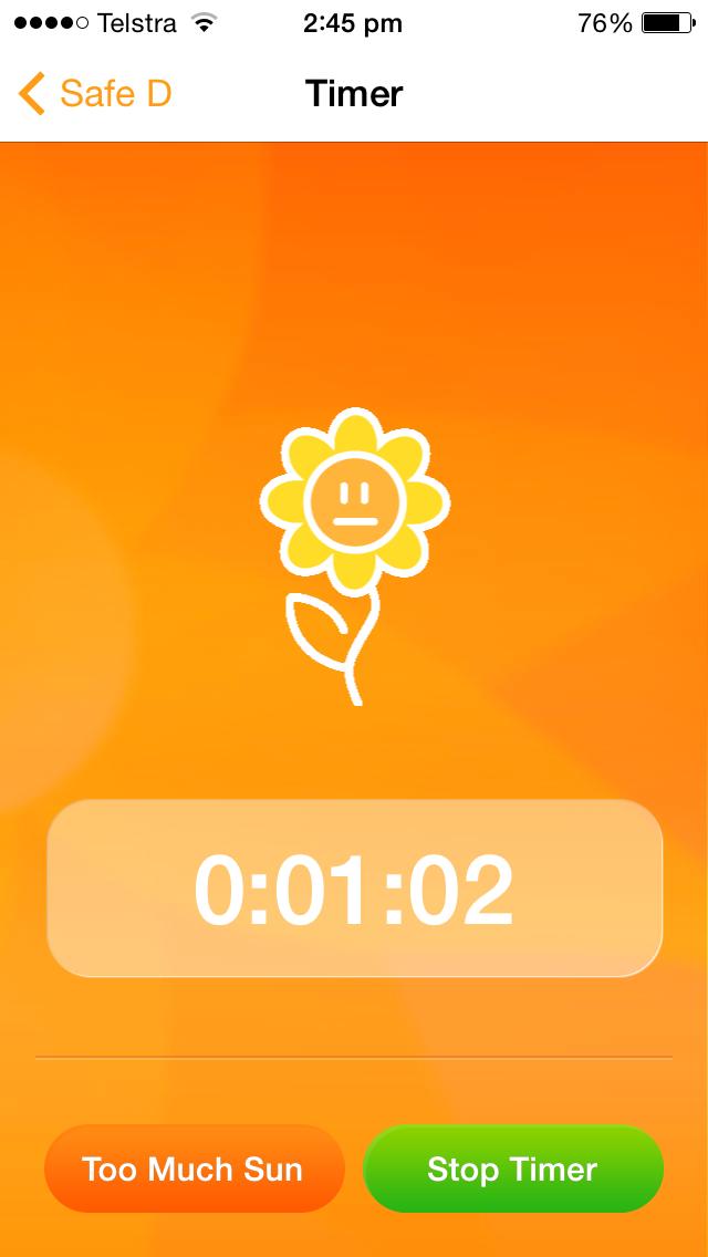 Timer running