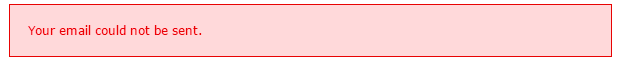Ok, so now what do I do?   Explain how to fix the error.