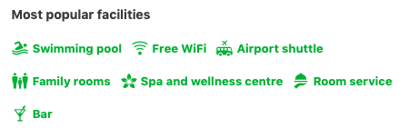 Without the text, does a flower represent 'spa and wellness centre'?