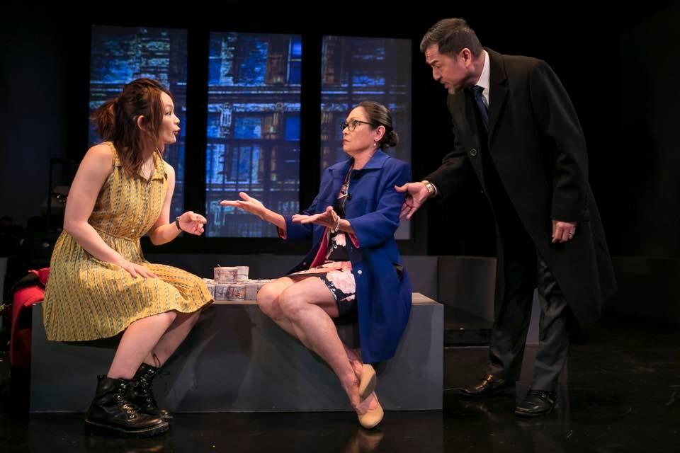 """Lydia Gaston as """"Mrs. Li"""" in Zhu Yi's A DEAL"""