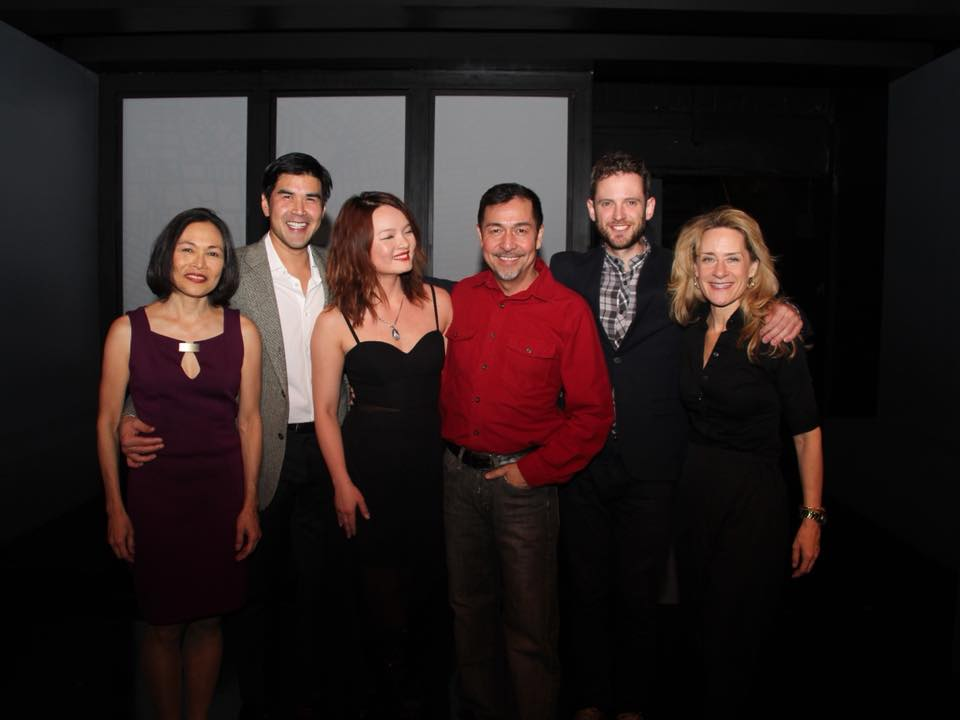Cast of A DEAL, Opening Night