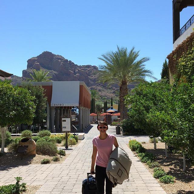 Bye Arizona. You gave me a heat stroke but I still loved it. All the mazels @dawnjennifer1!